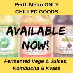 **CHILLED GOODS** Bone Broths, Cultures, Fermented Vege, Kombucha, Kvass